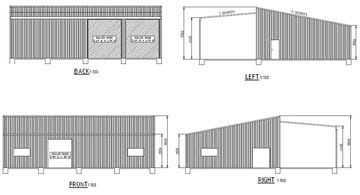 Shed X X Busselton Thumb   16m X 10m X 3.5m Shed Busselton   Supplied and Build by Roys Sheds