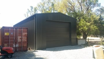 Workshop Shed X X Banjup Thumb   14m X 7m X 4.2m Workshop Shed Banjup   Supplied and Build by Roys Sheds
