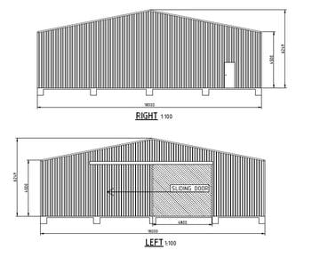 Workshop Shed X X Wandi Thumb   20m X 18m X 4.5m Workshop Shed Wandi   Supplied and Build by Roys Sheds