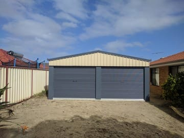 Garage Shed X X Sinagra Thumb   6m X 6m X 2.4m Garage Shed Sinagra   Supplied and Build by Roys Sheds