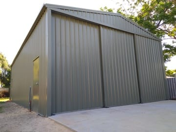 Workshop Shed X X Wannanup Thumb   12.7m X 7m X 3.6m Workshop Shed Wannanup   Supplied and Build by Roys Sheds