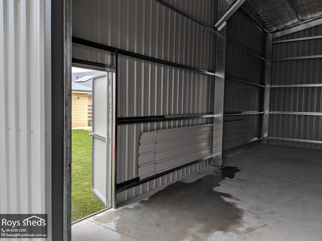 15x10 Garaport Shed Built In Byford Roys Sheds