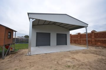 Garaport Shed X X Byford Thumb   15m X 10m X 4.5m Garaport Shed Byford   Supplied and Build by Roys Sheds