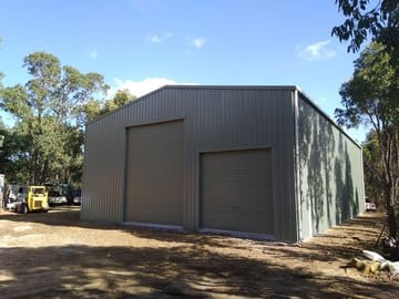 Garage Workshop Shed X X Brigadoon Thumb   18m X 11m X 5m Garage Workshop Shed Brigadoon   Supplied and Build by Roys Sheds