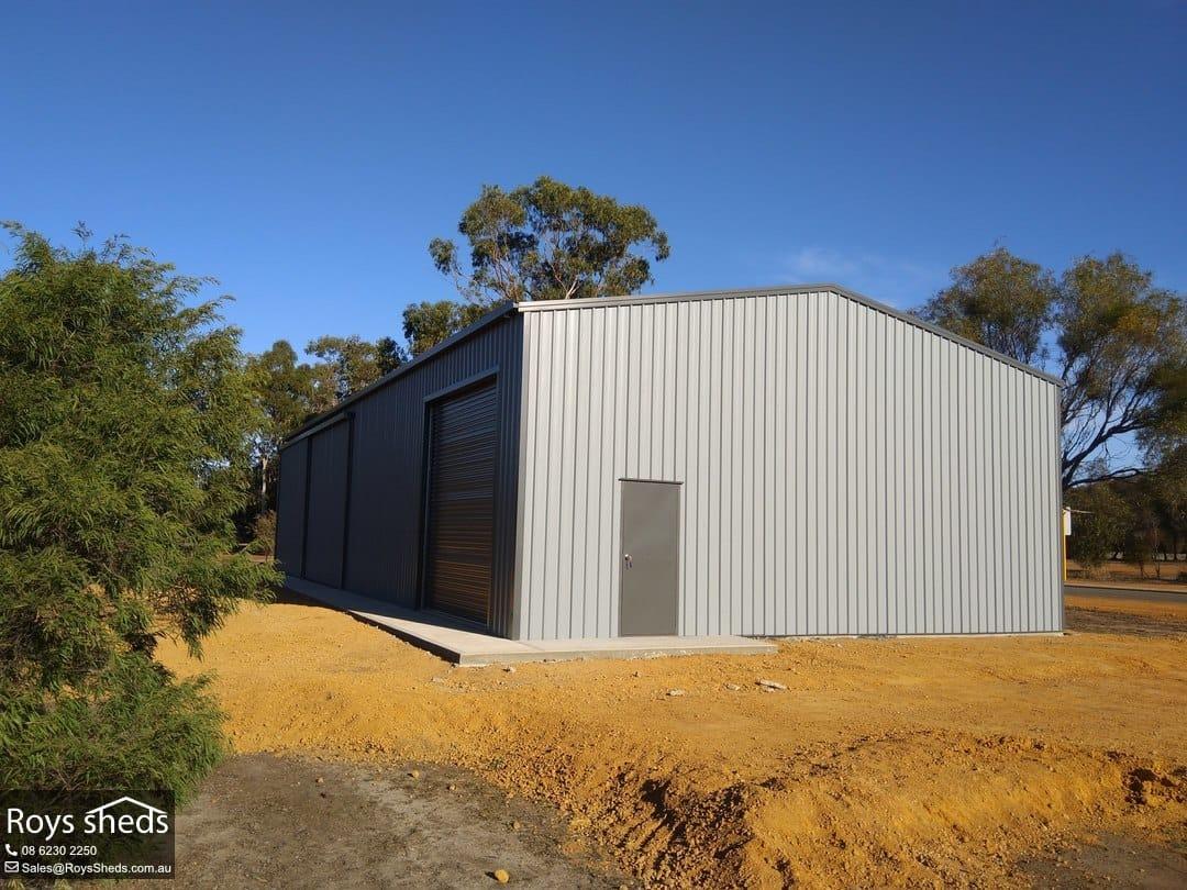 20x10 Garage Workshop Shed Built In Narrogin Roys Sheds