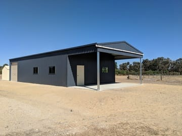 Garaport Shed X X North Dandalup Shire Thumb   20m X 8m X 3.6m Garaport Shed North Dandalup Shire   Supplied and Build by Roys Sheds