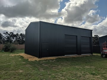 Shed X X Byford Thumb   8m X 12m X 5m Shed Byford   Supplied and Build by Roys Sheds
