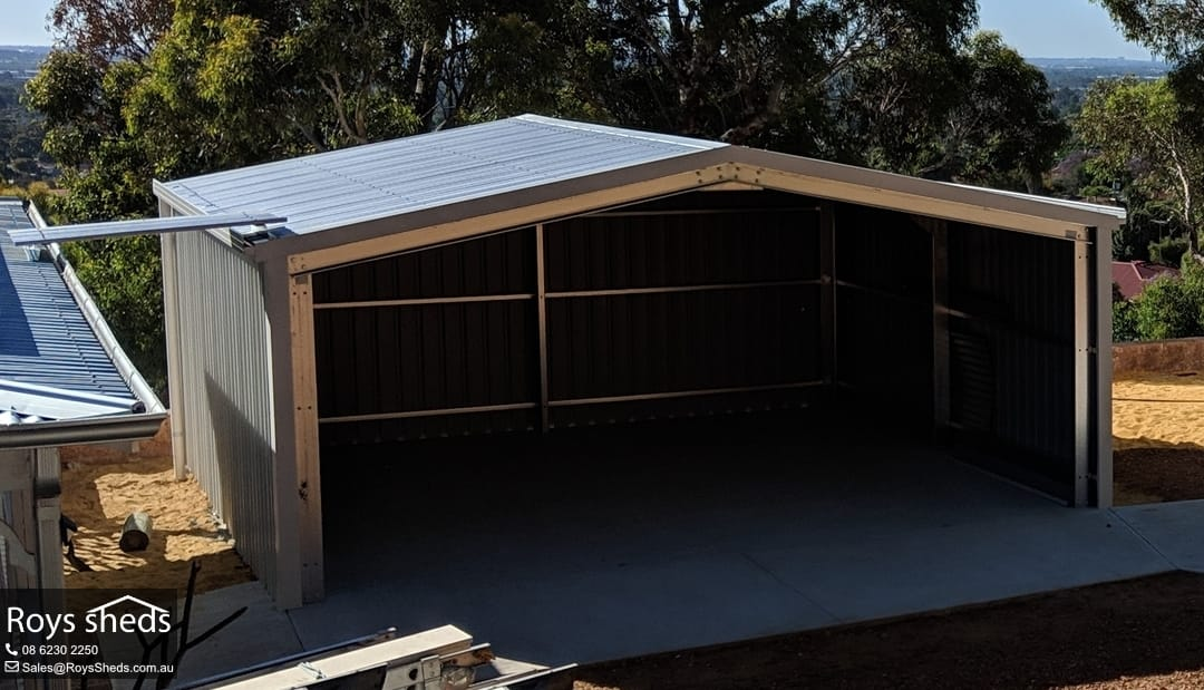 6x6 Shed Built In Mount Richon Roys Sheds