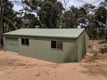 Shed X X Mt Helena Thumb   6m X 10m X 2.6m Shed Mt Helena   Supplied and Build by Roys Sheds