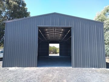 Shed X X Oakford Thumb   25m X 10m X 4.5m Shed Oakford   Supplied and Build by Roys Sheds