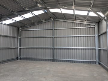 Shed X X Shoalwater Thumb   9.5m X 8m X 3.4m Shed Shoalwater   Supplied and Build by Roys Sheds