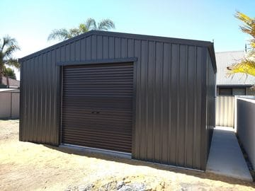 Shed X X Atwell Thumb   6m X 6m X 2.8m Shed Atwell   Supplied and Build by Roys Sheds