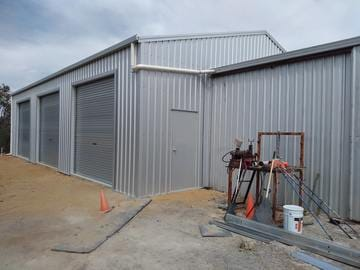 Extension Shed X X Banjup Thumb   14m X 10m X 3.6m Extension Shed Banjup   Supplied and Build by Roys Sheds
