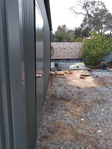 Shed X X Lesmurdie Thumb   6m X 6m X 3m Shed Lesmurdie   Supplied and Build by Roys Sheds
