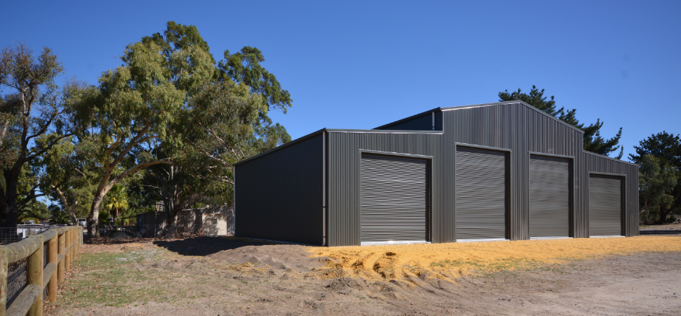 Barn - Medina - Supplied and Build by Roys Sheds