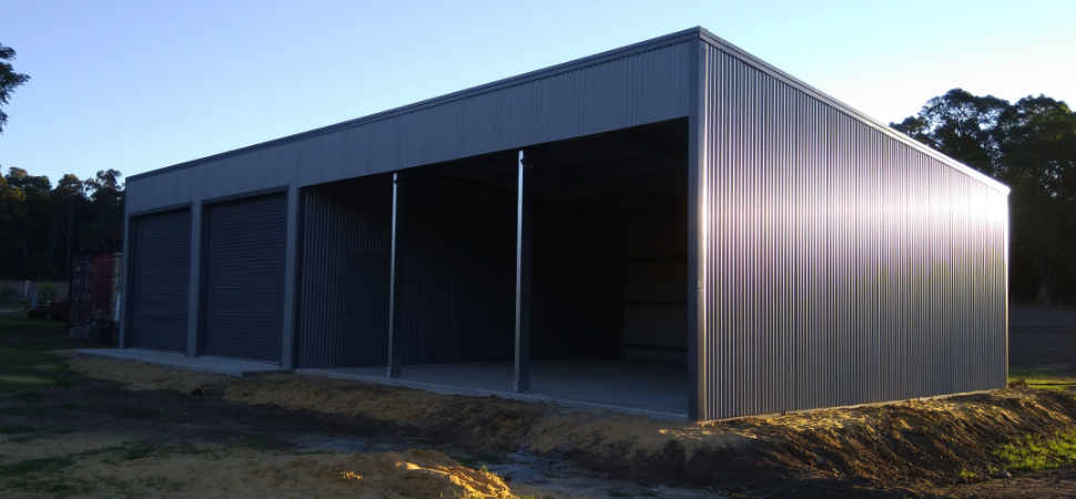 Farm Storage - Chittering - Supplied and Build by Roys Sheds