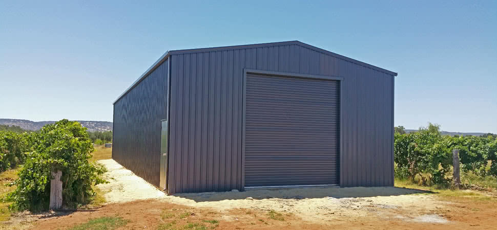 Garage - Medina - Supplied and Build by Roys Sheds