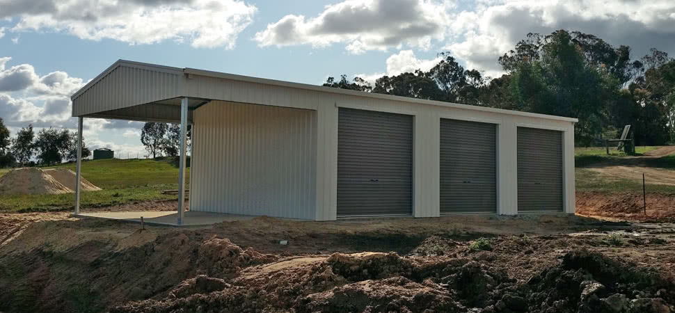 Garaport - Medina - Supplied and Build by Roys Sheds