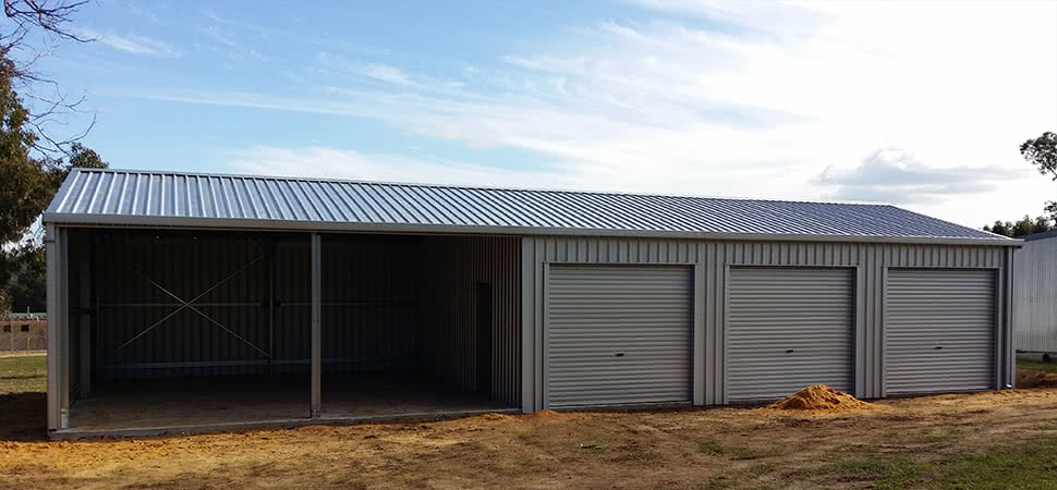 Open Front Farm - Medina - Supplied and Build by Roys Sheds