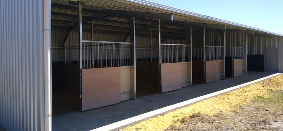 Stable - Medina - Supplied and Build by Roys Sheds