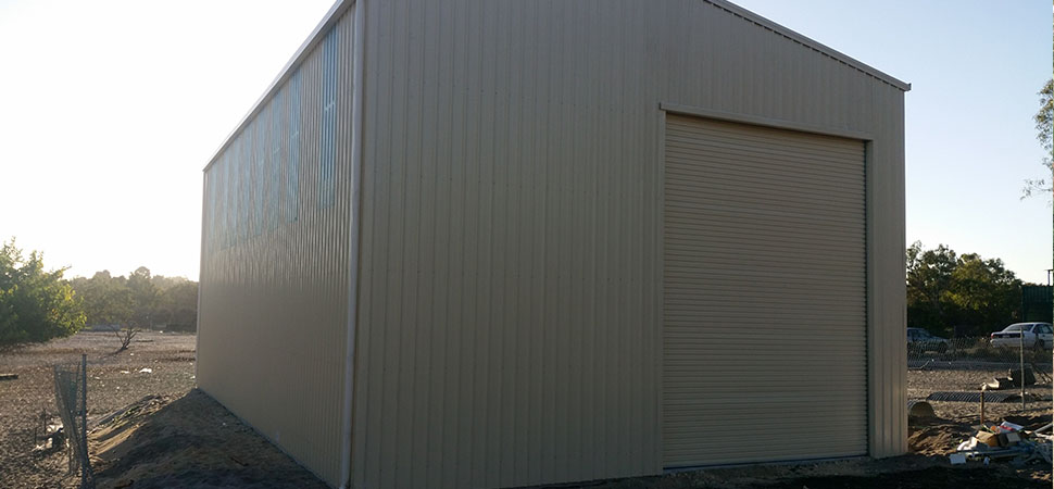 Storage Building - Chittering - Supplied and Build by Roys Sheds
