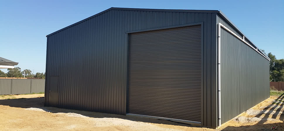 Workshop - Chittering - Supplied and Build by Roys Sheds