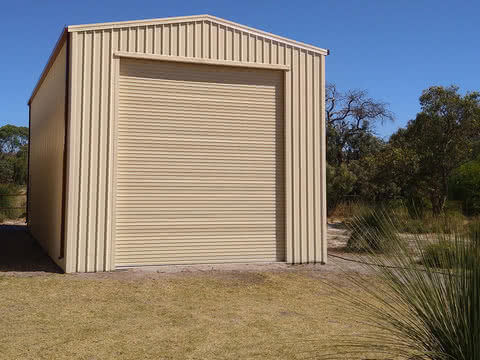 Boat   Triple Sliding Door Shed   Supplied and Build by Roys Sheds