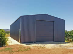 Garage   Residential   Supplied and Build by Roys Sheds