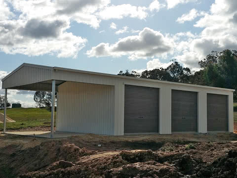Garaport   Storage Shed   Supplied and Build by Roys Sheds