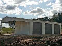 Garaport   Residential   Supplied and Build by Roys Sheds