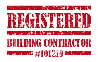 Registered Building Contractor #101219