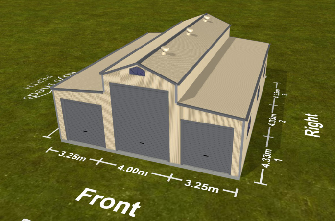 Visualise Your Vision 3D Shed Software